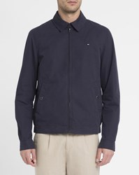 Tommy Hilfiger Navy Ivy Cotton Jacket Blue