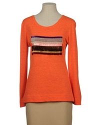 Jofre Long Sleeve Sweaters Orange