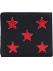 Saint Laurent Star Embroidered Wallet