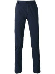 Ermanno Scervino Straight Leg Chinos Men Cotton Spandex Elastane 48 Blue