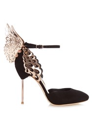 Sophia Webster Evangeline Angel Wing Pumps Black Multi