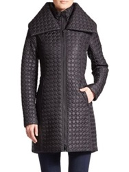 Dawn Levy Gwen Quilted Jacket Black