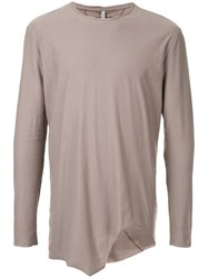 First Aid To The Injured Laminae T Shirt Cotton Grey