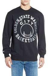 Men's Mitchell And Ness 'Golden State Warriors' Tailored Fit Fleece Crewneck Sweatshirt