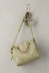 Anthropologie Napoli Satchel Chartreuse