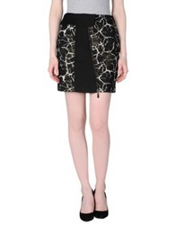 Malloni Mini Skirts Black