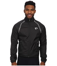 Pearl Izumi Elite Barrier Convertible Cycling Jacket Black Men's Coat