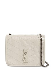 Saint Laurent Niki Vintage Leather Chain Wallet Bag Blanc Vintage