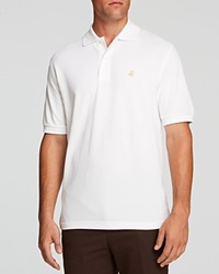 Brooks Brothers Pique Regular Fit Polo Black