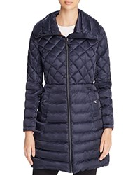 Vince Camuto Lightweight Down Coat Navy