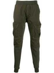C.P. Company Cp Pull On Cargo Trousers Green