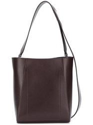 Calvin Klein 205W39nyc Bucket Tote Bag Leather