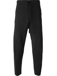 Forme D'expression Drop Crotch Trousers Grey