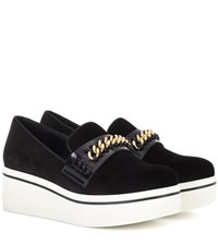 Stella Mccartney Binx Platform Loafers Black