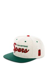 Mitchell And Ness Spurs Brushed Heather Holiday Snapback Gray