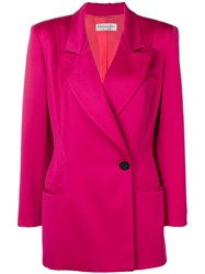 Christian Dior Vintage Suit Pink And Purple