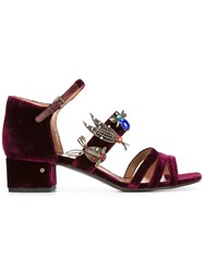 Laurence Dacade 'Marion' Sandals Pink Purple