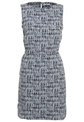Kiomi Summer Dress White Blue Light Blue