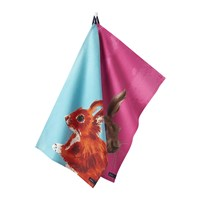 Joules Thea Tea Towels Set Of 2 Hare