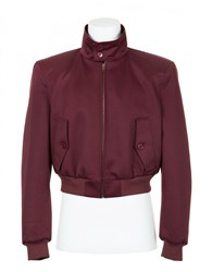 Balenciaga Cropped Jacket Raisin