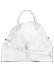 Marsell Shopper Tote Calf Leather White