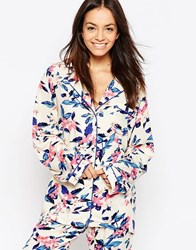Minkpink Mink Pink Secret Forest Pyjama Shirt Multicoloured