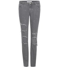 Givenchy Distressed Jeans Grey