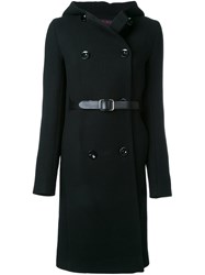 Martin Grant Double Breasted Coat Black