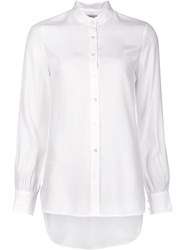 Frame Denim Button Down Shirt White
