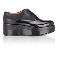 Maison Martin Margiela Women's Lace Up Platform Oxfords Black Blue Black Blue