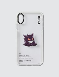 Casetify Gengar 094 Pokedex Day Iphone Xs Max Case Clear