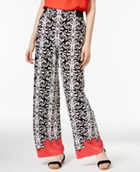 Inc International Concepts Printed Wide Leg Pants Only At Macy's Gold Scroll