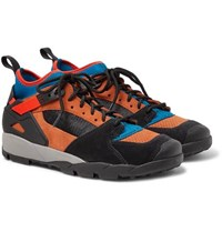 Nike Acg Air Revaderchi Suede Mesh And Neoprene Sneakers Multi