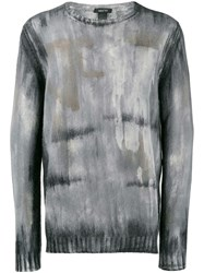 Avant Toi Brushed Sweatshirt Grey