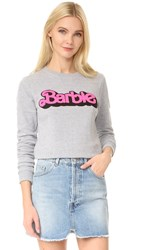 Eleven Paris Elevenparis X Barbie Sweatshirt Grey Melange