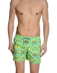 Aimo Richly Swimming Trunks Light Green