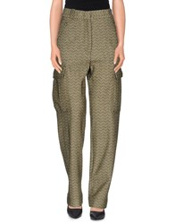 Missoni Trousers Casual Trousers Women Military Green