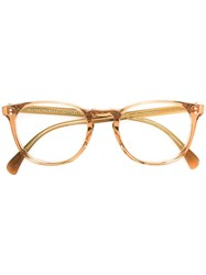 Oliver Peoples Finley Esq. Glasses Nude Neutrals