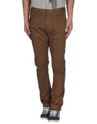 Diesel Black Gold Casual Pants Brown