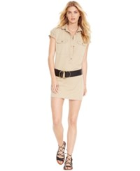Denim And Supply Ralph Lauren Cotton Twill Military Dress