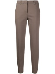 Peserico Plain Slim Fit Trousers 60