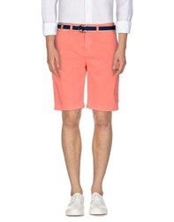 Orange Label By Superdry Trousers Bermuda Shorts Men Salmon Pink