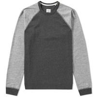 Rag And Bone Long Sleeve Baseball Tee Grey