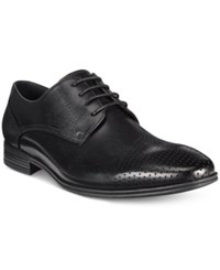 Kenneth Cole Reaction Men's Min Ute To Spare Oxfords Men's Shoes Black