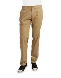 Bugatti Slim Fit Cargo Pants Khaki
