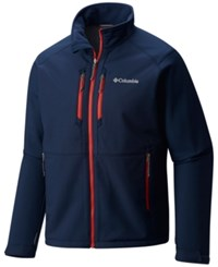 Columbia Men's Get A Grip Thermal Coil Softshell Jacket Collegiate Navy