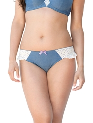 Curvy Kate Arizona Midi Briefs Denim Mix