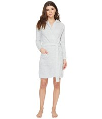 Pj Salvage Feather Touch Robe Heather Grey Women's Robe Gray