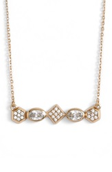 Melinda Maria 'Graham' Stone Necklace Gold