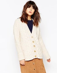 See By Chloe Cable Knit Cardigan Multi